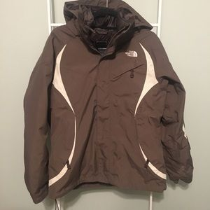 The North Face Army Green Heavyweight Jacket
